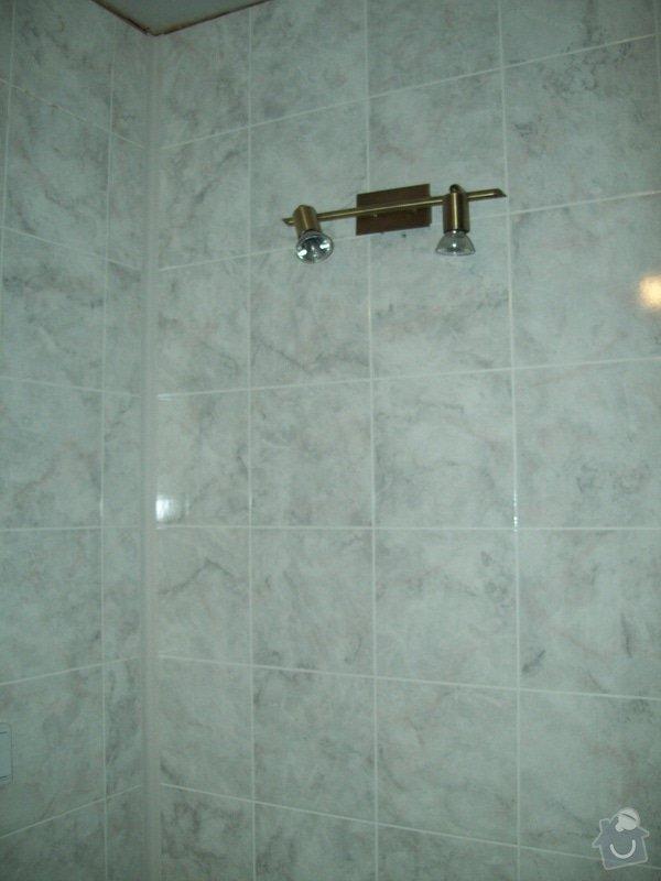 Rekonstrukce koupelny a WC v panelákovém bytě: 100_1160