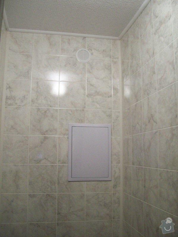 Rekonstrukce koupelny a WC v panelákovém bytě: 100_1185