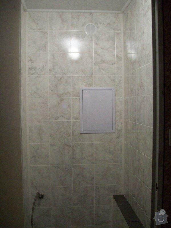 Rekonstrukce koupelny a WC v panelákovém bytě: 100_1190
