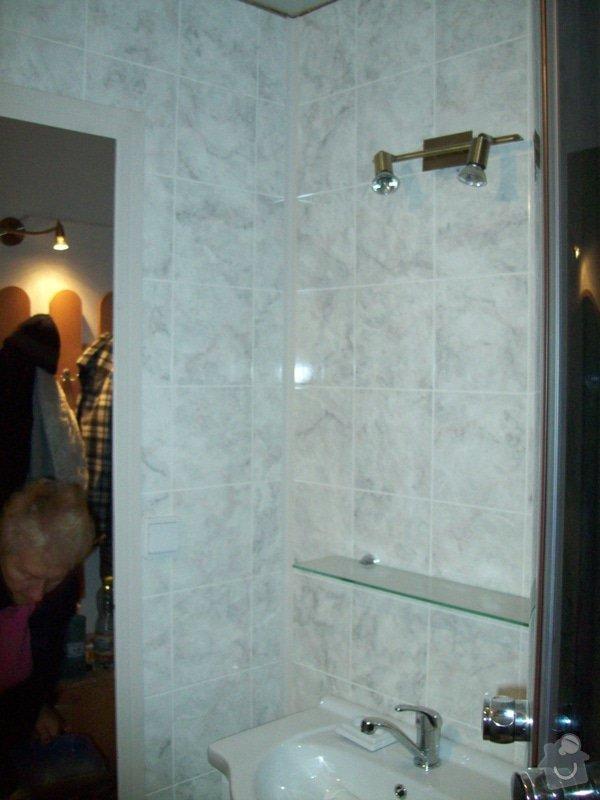 Rekonstrukce koupelny a WC v panelákovém bytě: 100_1192