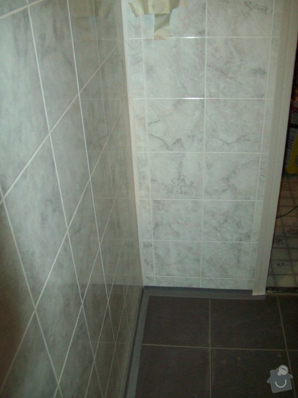 Rekonstrukce koupelny a WC v panelákovém bytě: 100_1194