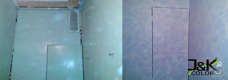 Nástřik bytového jádra ( wc, koupelna, plášť jádra ): Nastrik_bytoveho_jadra_1