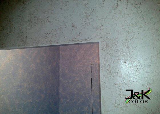Nástřik bytového jádra ( wc, koupelna, plášť jádra )