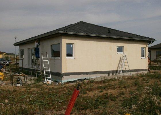 Zhotovení silikonové fasády