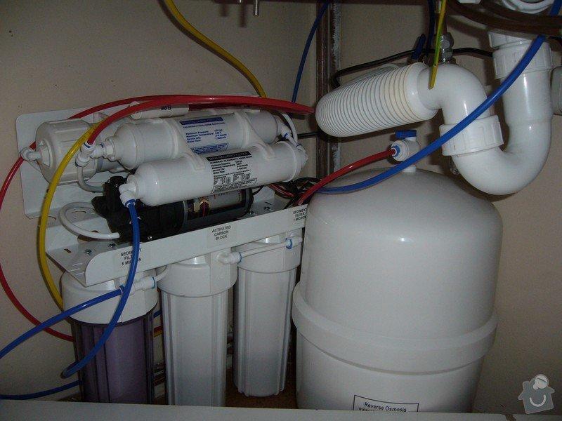Reverzní osmóza minerál - čistička vody do kuchyně: RO 6 M s čerpadlem