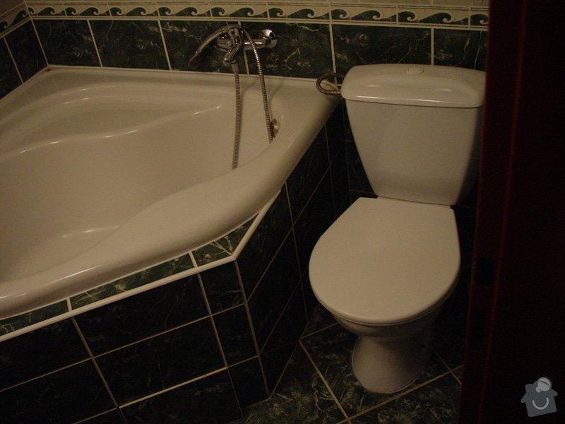 Instalace sprchového koutu, zrušení stávající vany: DSC02916