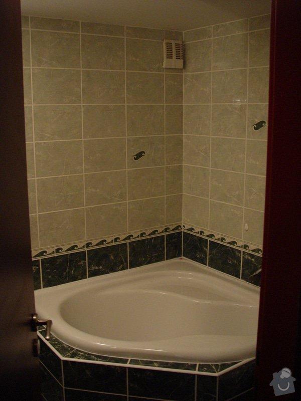 Instalace sprchového koutu, zrušení stávající vany: DSC02915