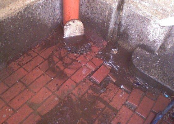 Čištění kanalizace, průzkum kamerou