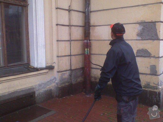 Čištění kanalizace, průzkum kamerou: DSC00348