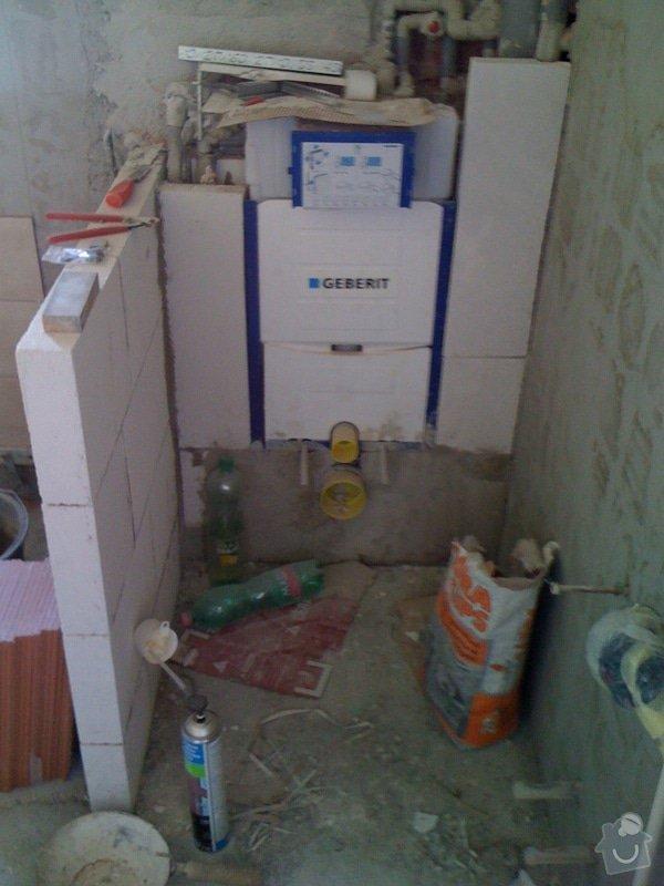 Rekostrukce koupelny s wc: 10