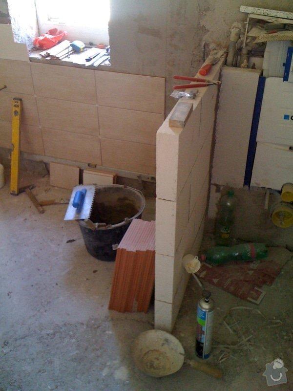 Rekostrukce koupelny s wc: 12