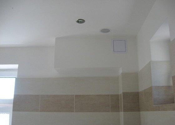 Rekostrukce koupelny s wc