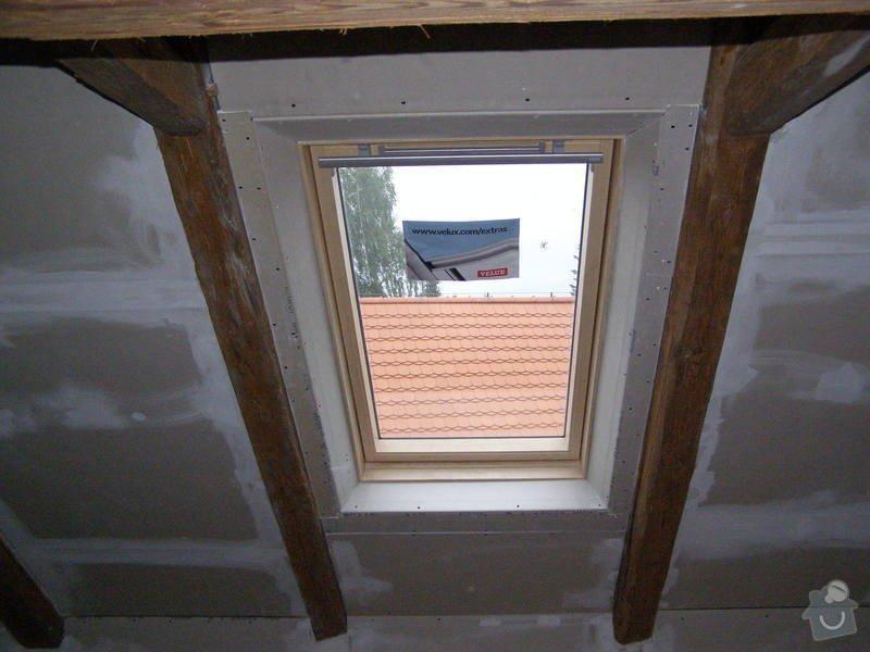 Rekonstrukce půdy : instalace_stresnich_oken