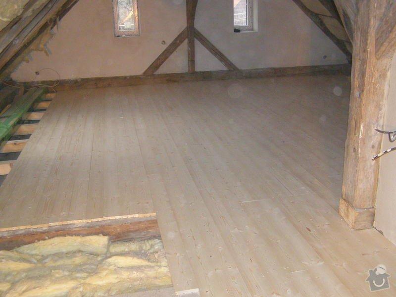 Rekonstrukce půdy : puda_pokladka_podlahy