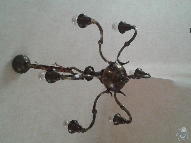 Oprava (zrestaurování) starožitných lustrů: lustr_1