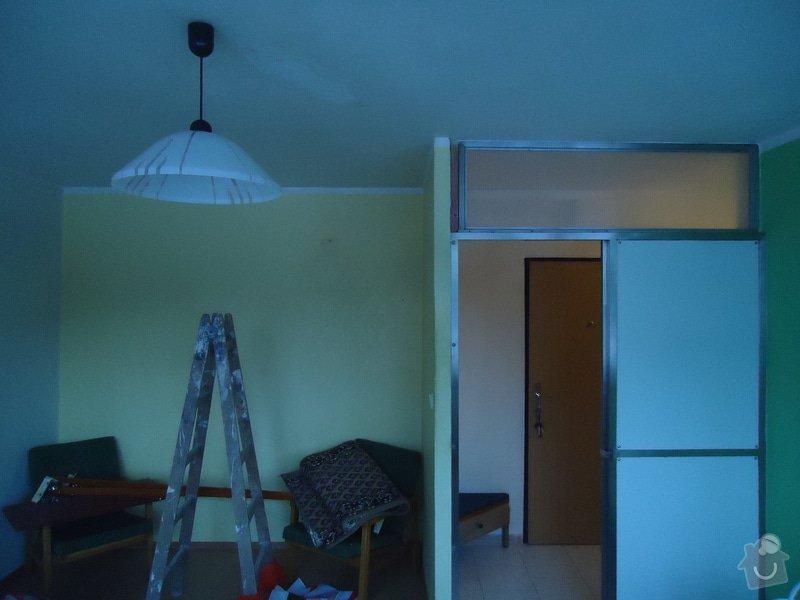 Zednické opravy,malování,úklid bytu: 19
