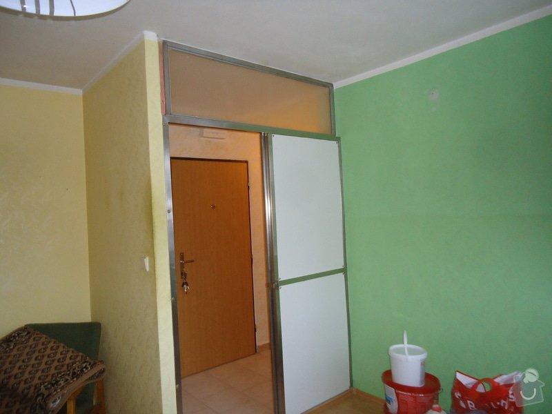 Zednické opravy,malování,úklid bytu: 21
