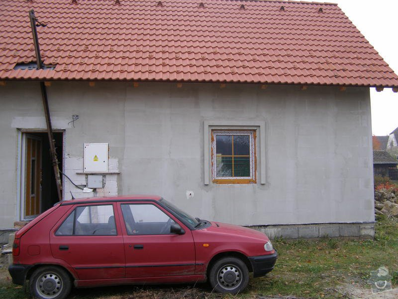 Zhotovení omítek, štuků, vymalování, obklady, sádrokartony: dum_bez_verandy
