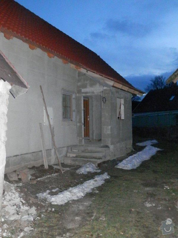 Zhotovení omítek, štuků, vymalování, obklady, sádrokartony: hotova_hruba_veranda