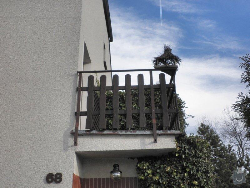 Zastřešení a zasklení balkonu: P1310001