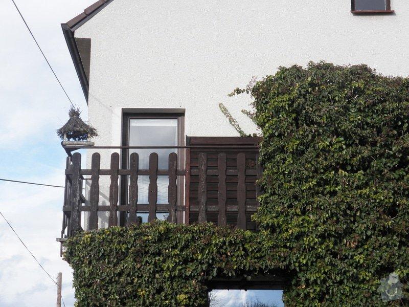 Zastřešení a zasklení balkonu: P1310002