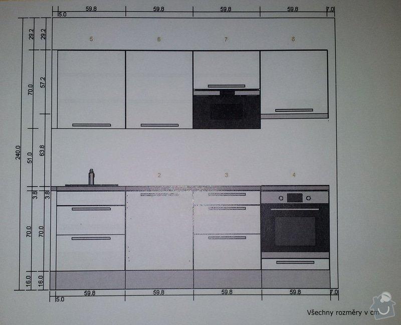 Kuchyňská linka (6 stejných sestav): image