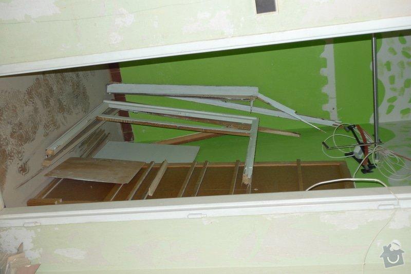 Odvoz materiálu z rekonstrukce bytu: P1130768