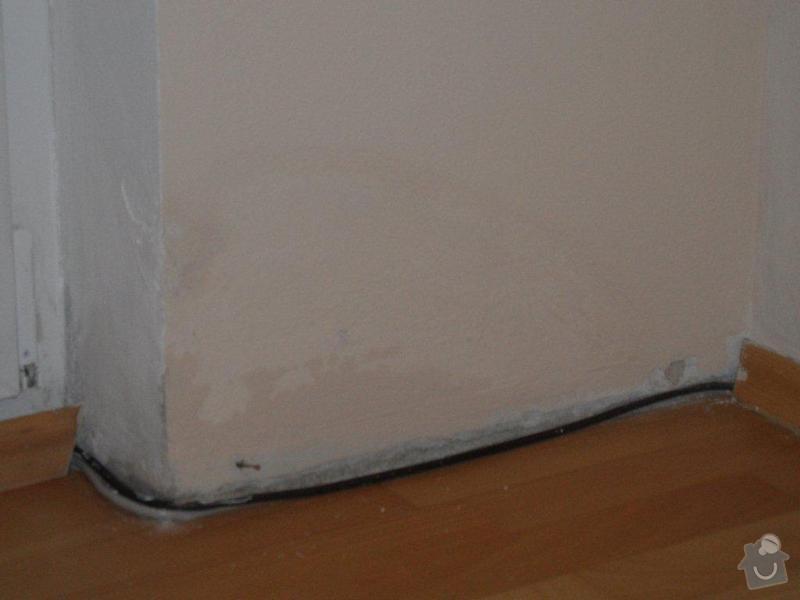 Odvlhčení stěny bytový dům: SAM_7004