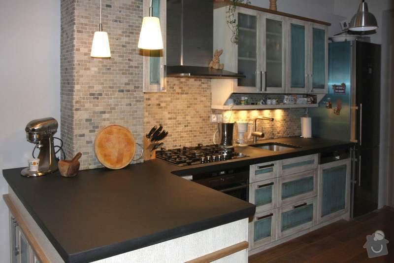 Návrh a realizace kuchyňské linky ve francouzském stylu: 2