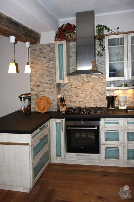 Návrh a realizace kuchyňské linky ve francouzském stylu: 3