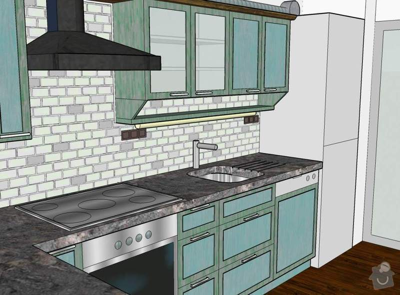 Návrh a realizace kuchyňské linky ve francouzském stylu: 8