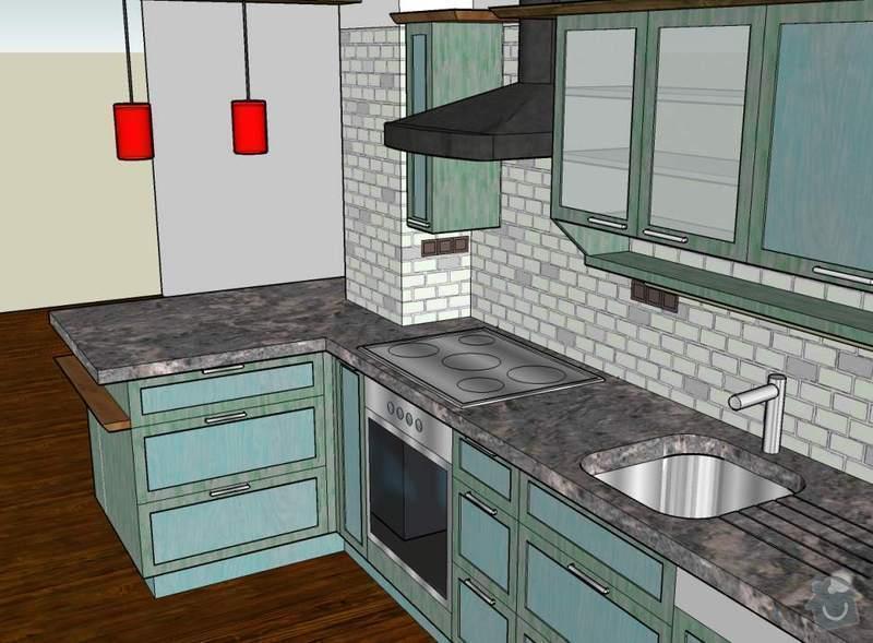 Návrh a realizace kuchyňské linky ve francouzském stylu: 10