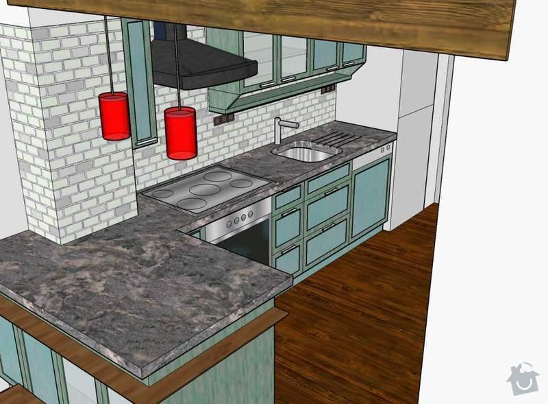 Návrh a realizace kuchyňské linky ve francouzském stylu: kuchyn_kosire_c