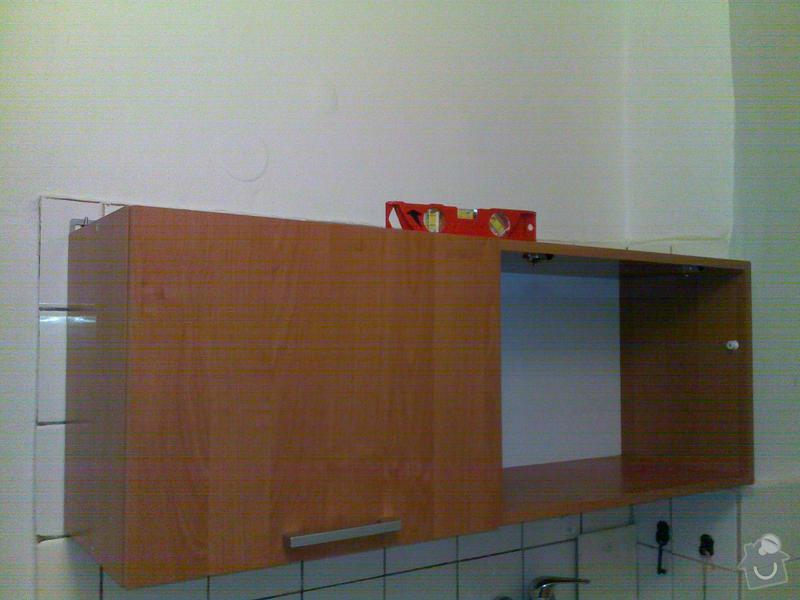 Montáž skříně a kuchyně.: Q_057