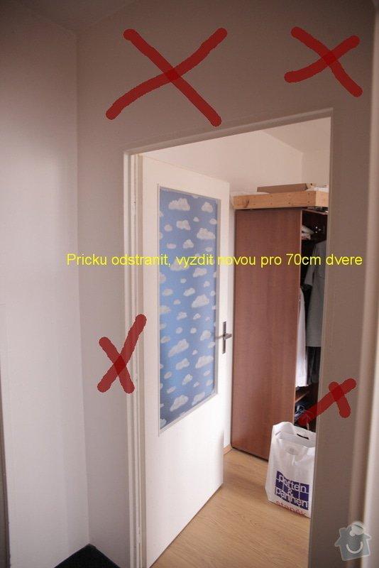 Bourací + stavební práce v panelovem bytě : 5