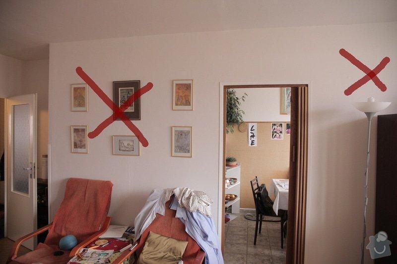 Bourací + stavební práce v panelovem bytě : 2