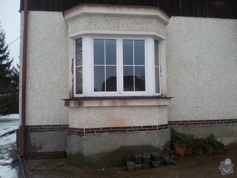 Bílá plastová  frans.okna-dveře: 20130204_155746