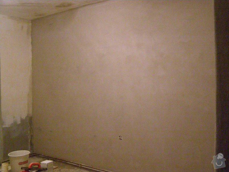 Rekonstrukce bytu,obklady,renovace parket,pokládka plovoucí podlahy aj.: stena_novy_stuk