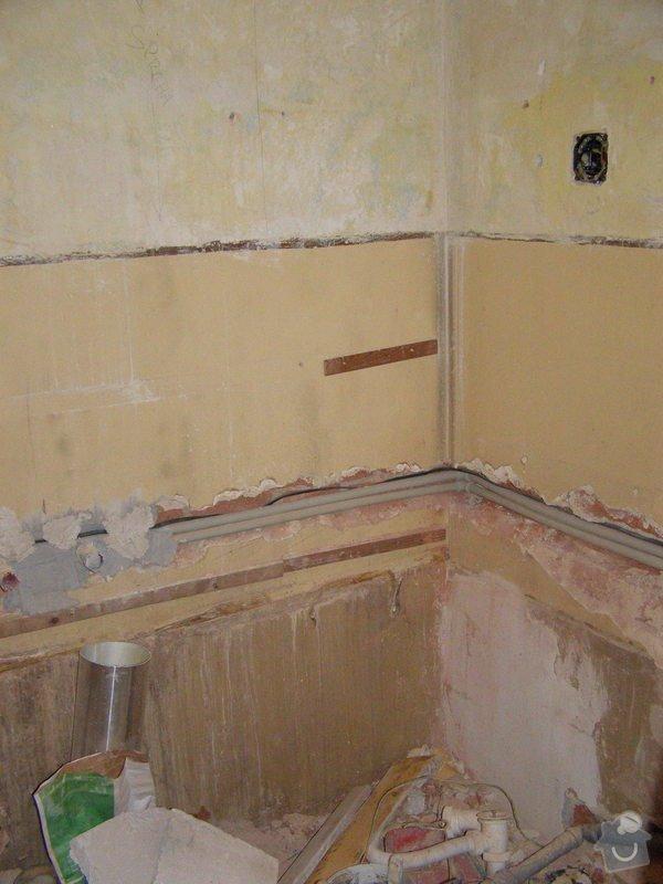 Rekonstrukce bytu,obklady,renovace parket,pokládka plovoucí podlahy aj.: koupelna_-rozvody_vody