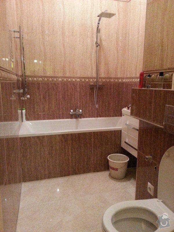Rekonstrukce bytu,obklady,renovace parket,pokládka plovoucí podlahy aj.: koupelna-_konec