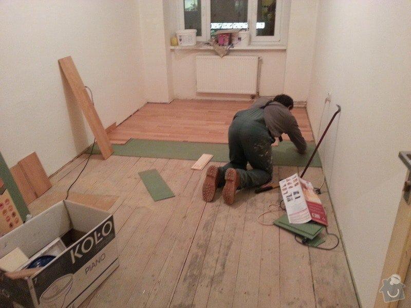 Rekonstrukce bytu,obklady,renovace parket,pokládka plovoucí podlahy aj.: pokladka_plovouci_podlahy