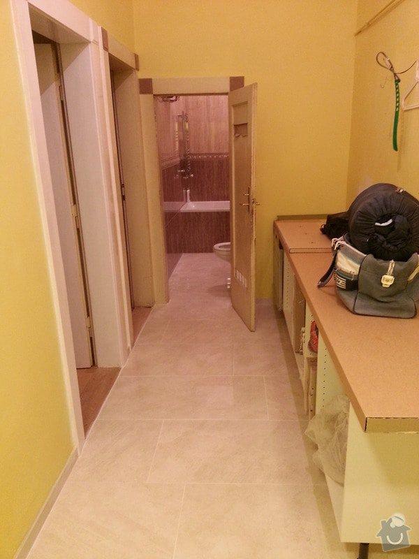 Rekonstrukce bytu,obklady,renovace parket,pokládka plovoucí podlahy aj.: celkovy_pohled_chodba-koupelna