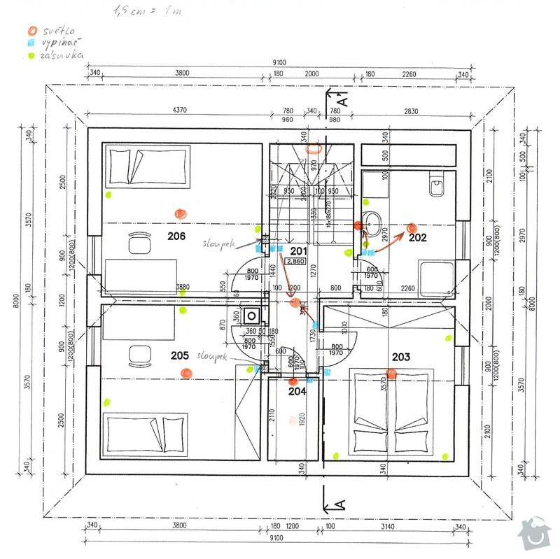 Zhotovení elektrorozvodů v novostavbě RD: 130203_elektrika_2np