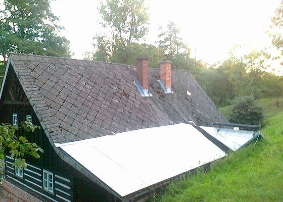 Oprava stávajícího krovu,demontáž,montáž krytiny.