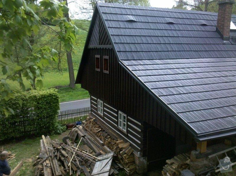Oprava stávajícího krovu,demontáž,montáž krytiny.: 12