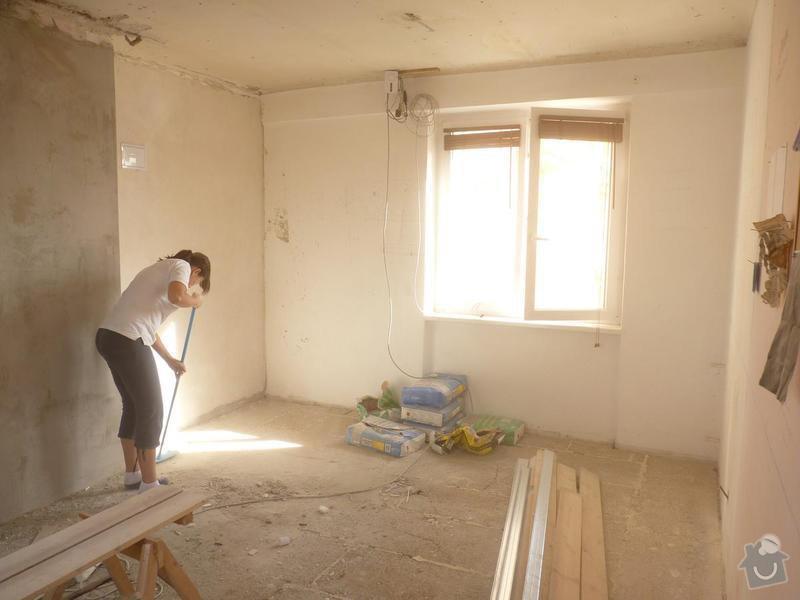 Rekonstrukce podlah v bytě: P1380178