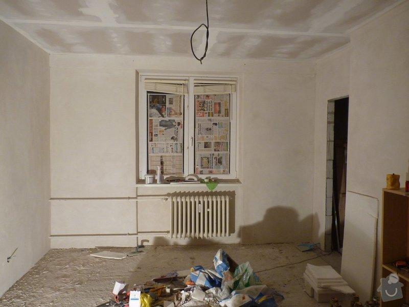 Rekonstrukce podlah v bytě: P1380389