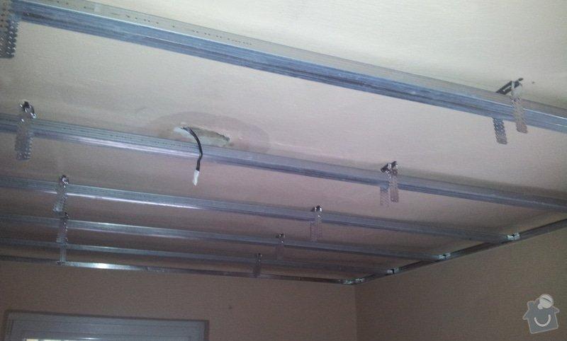 Montáž sádrokartonových stropů: 20130129_102556