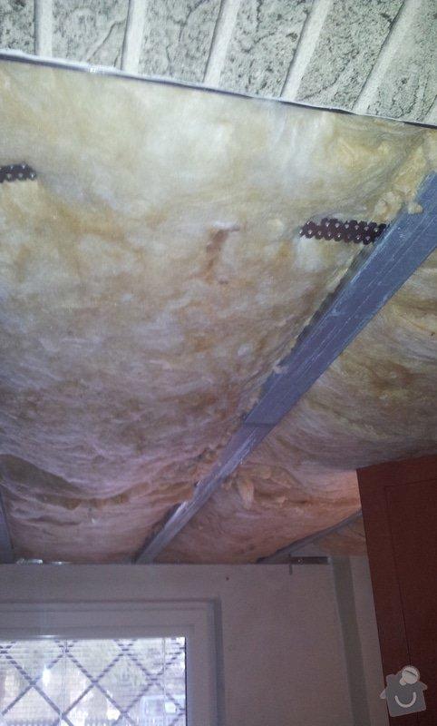 Montáž sádrokartonových stropů: 20130129_111432