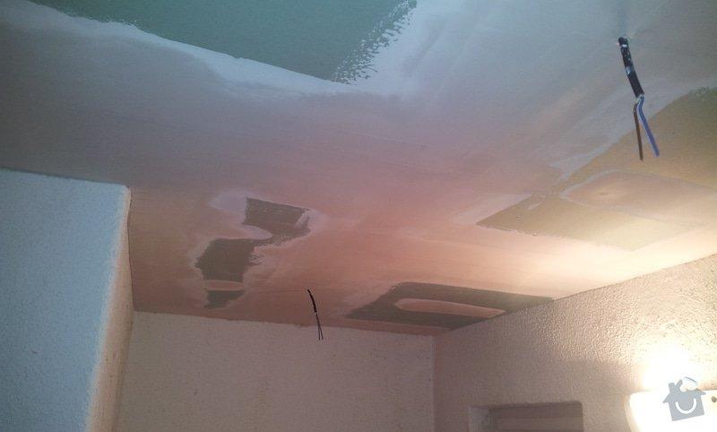 Montáž sádrokartonových stropů: 20130130_153329